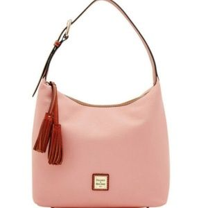 NWT Donney & Bourke Pebbled Pink Leather Paige Sac